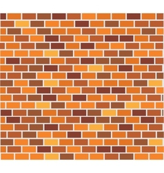 Wall of capacity brick vector