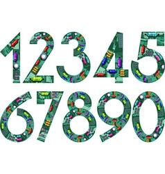 Circuit numbers vector