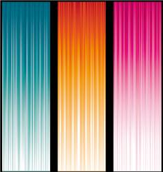 Light banners vector