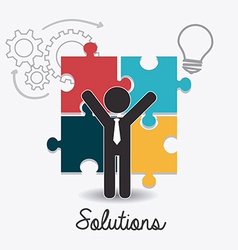 Solutions design vector