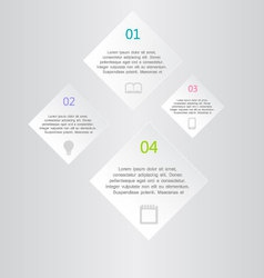 Modern inforgraphic template vector