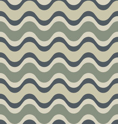 Neutral saddle wave seamless background pattern vector