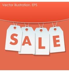 Sale percents vector