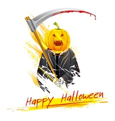 Halloween grim vector