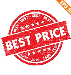 Stamp sticker best price collection - - eps vector