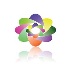 Multicolor icon vector