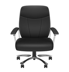 Black chair vector