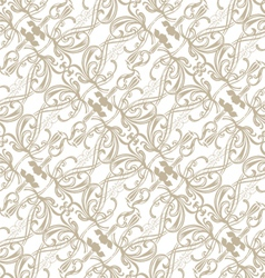 Filigree seamless pattern vector