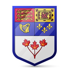 Coat of arms of canada vector