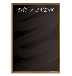 Eat and drink menu vector