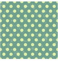 Seamless retro dot pattern background vector