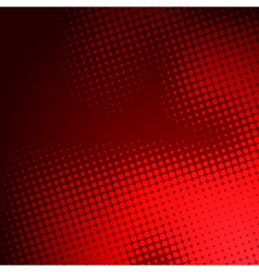 Creative red halftone background vector