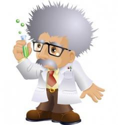 Nutty professor vector