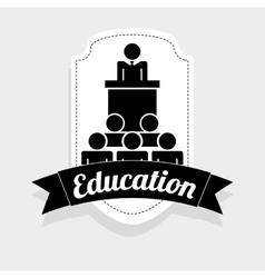 Education icon vector