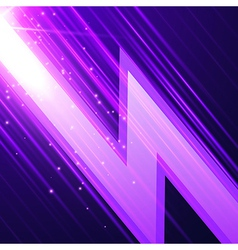 Abstract glowint background vector