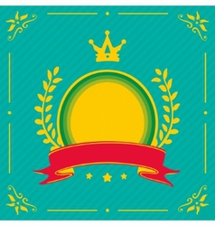 Heraldry symbol vector