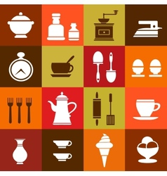 Elements of household vector