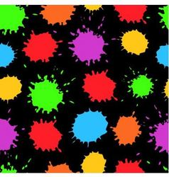 Seamless background with bright blots vector