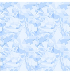 Blue seamless pattern of crumpled paper vector