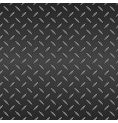 Diamond plated seamless metal sheet vector