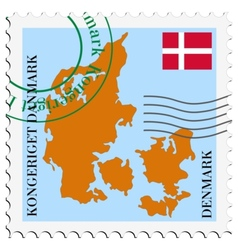 Mail to-from denmark vector
