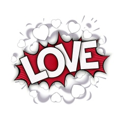 Love bang vector