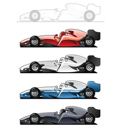 Racecars vector