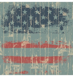 Usa flag themed background vector