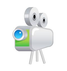 Icon film projector vector