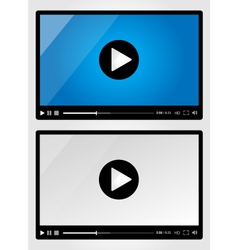 Video player for web - set vector