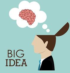 Big idea design vector