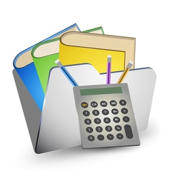 Folder storage vector
