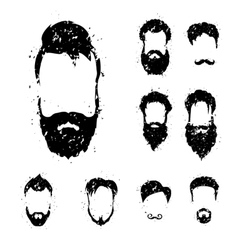 Beards vector