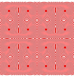 Design seamless twisting motion striped pattern vector