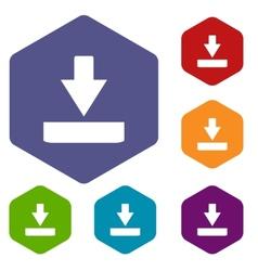 Download rhombus icons vector
