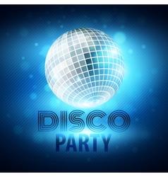 Disco party vector