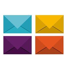 Envelope design vector