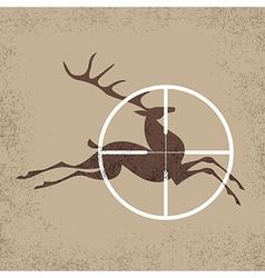 Deer hunter vector