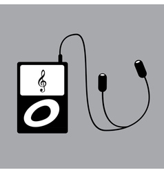 Ipod music vector