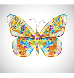 Beautiful abstract butterfly vector