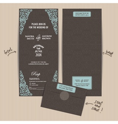 Seal and send invitation vector