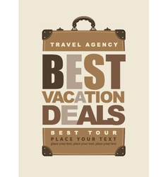 Travel agency vector