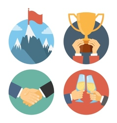 Business leadership vector