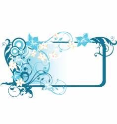 Rectangle frame vector