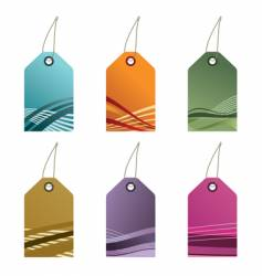 Gradient tags vector