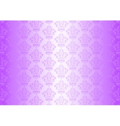 Purple wallpaper with ornaments vector