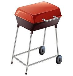 A grilling device vector