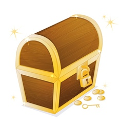 A jewellery box vector