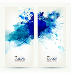 Two banners vector