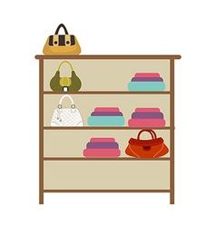 Icon wardrobe vector
